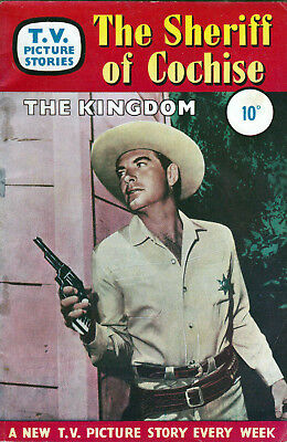 TV PICTURE STORIES - THE SHERIFF OF COCHISE  -   Facsimile 68 page Comic