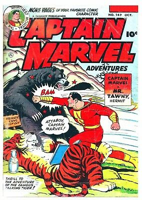 CAPTAIN MARVEL No. 149  -  Facsimile Comic
