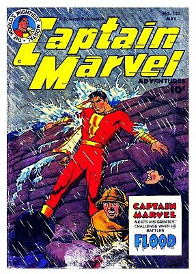 CAPTAIN MARVEL No. 132  -  Facsimile Comic