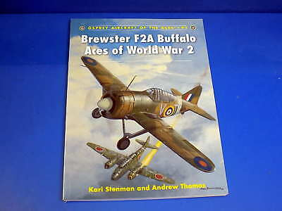 Osprey Aircraft of the Aces No 91 - Brewster F2A Buffalo Aces of World War 2
