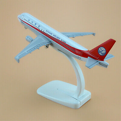 16cm alloy plane model China Sichuan Airlines A320 B-6026