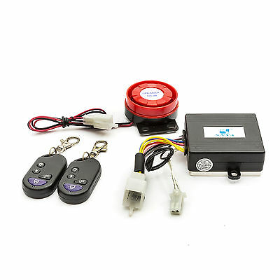 Baotian Scooter Alarm System 50cc 125cc Remote Start & 2 Fobs Plugs To Loom