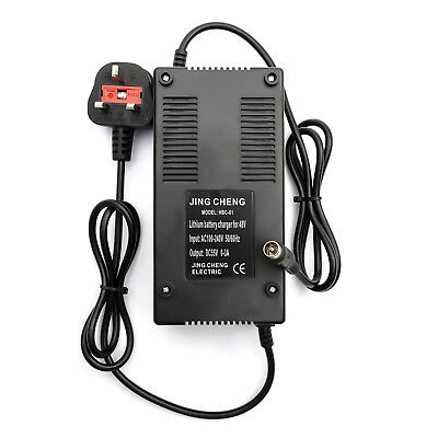 48v Lithium Battery Charger 2amp Electric Bicycle Cycle  Bike 10amp - 15amp Ah
