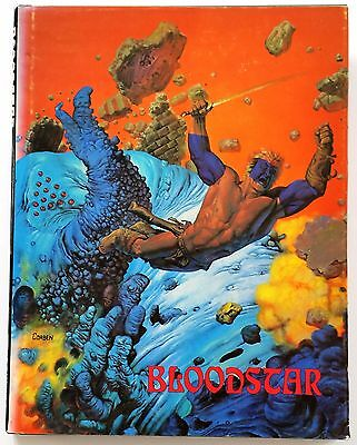 Bloodstar   SIGNED and NUMBERED 1183 / 5000 by Richard Corben  Hardback