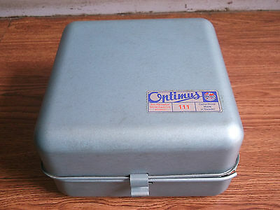 """Rare old vintage """"OPTIMUS"""" brand portable tin stove of 60's, made in Sweden.."""