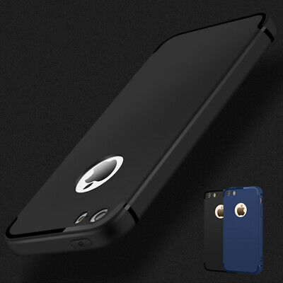 For iPhone 5S 5 SE Luxury TPU Ultra Thin Matte Shockproof Back Case Phone Cover