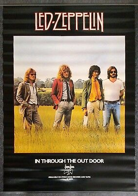 Led Zeppelin In Through the Out Door VINTAGE POSTER