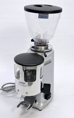 Mazzer Luigi Mini Manual Commercial Espresso Coffee Bean Grinder Doser Rio