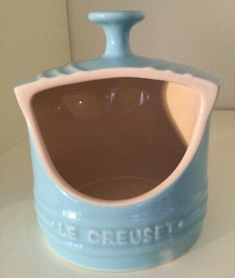 Le Creuset Light Blue Stoneware Salt Pig