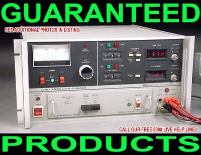 Keytek 424 248 Programmer 1500 Volts 200 Amps Electrical Impulse Surge Generator