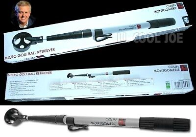 BNIB GOLF BALL RETRIEVER Colin Montgomerie Unisex Xmas gift!