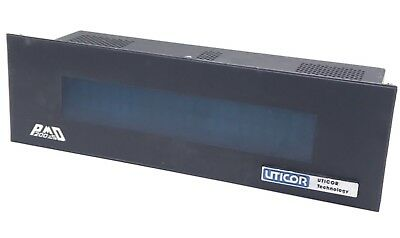 Uticor 76538 Programmable Message Display Pmd200S Rev B, .2/.10Amp, 115/230Vac
