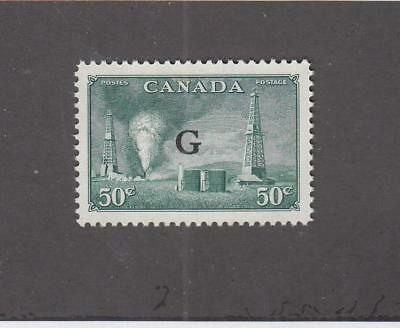 CANADA  (MK1454)  #O24   VF-MNH   50cts   OIL WELLS  G    CAT VALUE $18