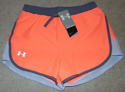 ~NWT Girls UNDER ARMOUR Shorts! Size YLG Loose Fit Nice FS:)~