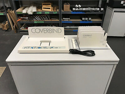 Coverbind 5000 Thermal Cover Binding Machine -  Includes Cooling Rack