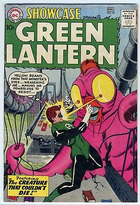 Showcase Presents #24 Green Lantern DC Comics 1960 Silver Age VG- 3.5