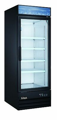 New Xiltek One Glass Door Merchandiser Refrigerator With Free Lift Gate Delivery
