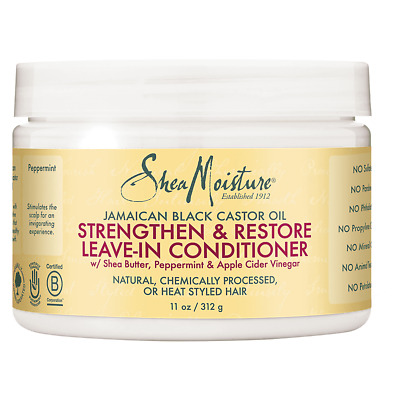 Shea Moisture Jamaican Black Leave-In Conditioner 11 Ounce Pack of 2