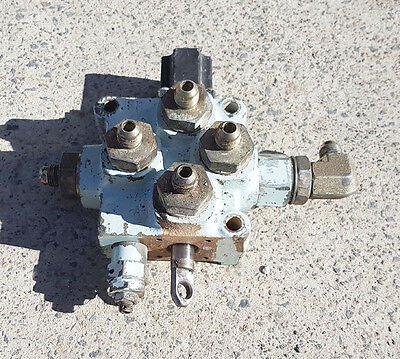 3 Position Single Spool Hydraulic Spool Valve with Detent
