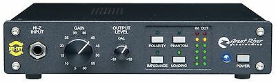GREAT RIVER ME-1NV Microphone Preamp with RK-1 Rack Kit Mic
