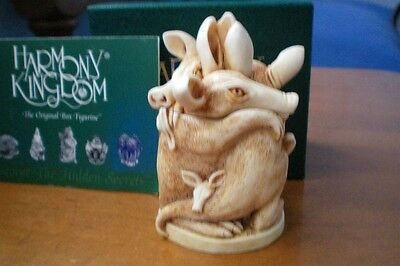 Harmony Kingdom Group Therapy Aardvarks UK Made Early Stamp Marble Resin