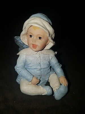 """Boyds Faerietots  2002 """"Giggles"""" 1st edition by Boyds Babies Fairy Collectible"""