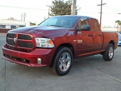 2017 Dodge Ram 1500 Express Quad Cab 2017 Dodge Ram 1500 Express Quad Cab Salvage Damaged Perfect Color Only 7K Mi