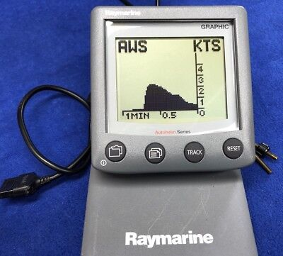 Raymarine ST60+ Graphic Instrument Repeater NMEA Depth Speed Display E22075-P