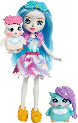 Enchantimals FCG78 Sleepover Night Owl Doll