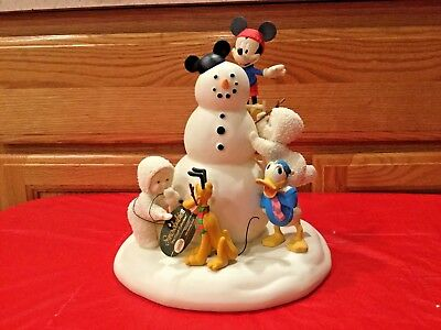 "Department 56 Snowbabies ""The Guest Collecttion ""Making Snowfriends"" RETIRED"
