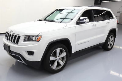 2014 Jeep Grand Cherokee Limited Sport Utility 4-Door 2014 JEEP GRAND CHEROKEE LTD SUNROOF NAV REAR CAM 41K #460899 Texas Direct Auto