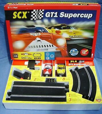 SCX GT1 Supercup Set for 1/32 Classic Scalextric As New Boxed