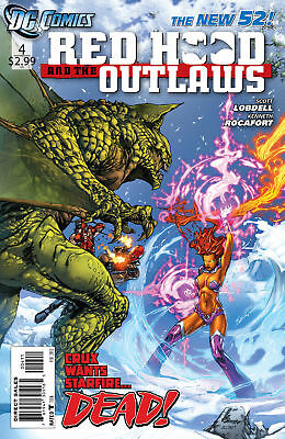 Red Hood And The Outlaws #4 New 52 2012 Nm-