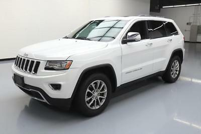 2014 Jeep Grand Cherokee Limited Sport Utility 4-Door 2014 JEEP GRAND CHEROKEE LTD LEATHER PANO ROOF NAV 61K #145948 Texas Direct Auto