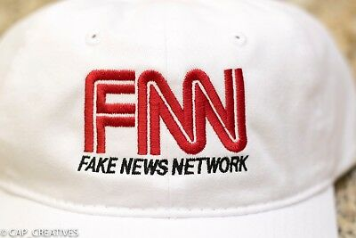 MAGA Donald Trump 2020 Hat- FAKE NEWS CNN ABC PMSNBC Witch Hunt -NEW White Cap