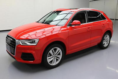 2016 Audi Q3  2016 AUDI Q3 2.0T PREM PLUS PANO ROOF BROWN LEATHER 25K #011309 Texas Direct