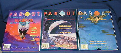 Lot of 3 1993 FAROUT THE UNEXPLAINABLE, THE UNUSUAL AND THE UNREAL Magazines