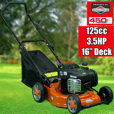 "NEW DAKOTA 16"" Lawn Mower Briggs & Stratton 125cc Lawnmower 450E 3.5HP Xmas Sale"