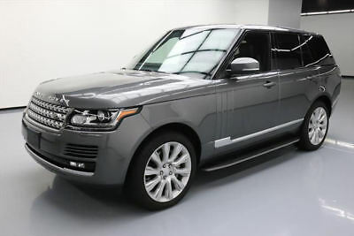 2015 Land Rover Range Rover Supercharged Sport Utility 4-Door 2015 LAND ROVER RANGE ROVER SUPERCHARGED 4X4 NAV 32K MI #218102 Texas Direct