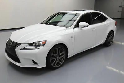 2015 Lexus IS  2015 LEXUS IS250 F-SPORT SUNROOF REAR CAM CLIMATE SEATS #080569 Texas Direct
