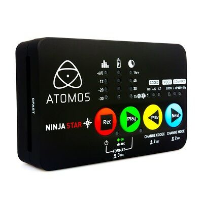 Atomos Ninja Star Pocket Size HDMI ProRes Recorder & Deck (ATOMNJS001) NEW!