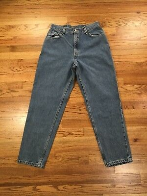 Levi's 550 High Waist Boyfriend Mom Jeans Relaxed Fit Tapered Leg LEVIS 28 x 30