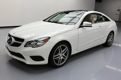 2014 Mercedes-Benz E-Class Base Coupe 2-Door 2014 MERCEDES-BENZ E350 COUPE SPORT P1 PANO NAV 23K MI #254357 Texas Direct Auto
