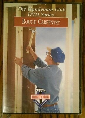 Rough Carpentry Instructional / Tutorial / How To Dvd **free Shipping**