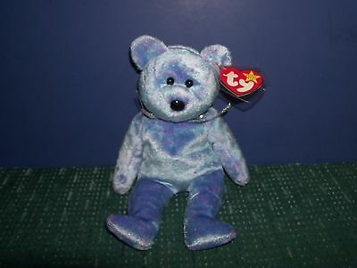 Ty Beanie Baby - Clubby - 1999 - with Hang Tag Plush Toy Bear