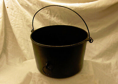 Vintage Cast Iron - Griswold Erie #8 Pot Dutch Oven / Early Slat Logo