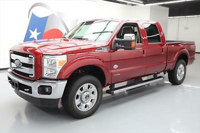 2016 Ford F-250  2016 FORD F-250 KING RANCH CREW 4X4 DIESEL SUNROOF NAV! #A48784 Texas Direct