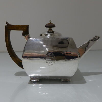 Early 19th Century Antique George III Sterling Silver Teapot London 1802