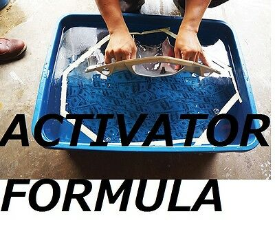 """For watertransfer printing ACTIVATOR""""Hydrographics activator""""100% """"B"""" FORMULA"""