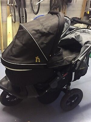 Out N About Double Carrycot And twin adapter